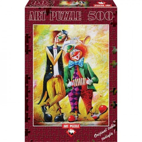 Art Puzzle 500 Parça Komik İkili 4182
