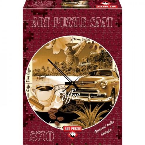 Art 570 Saat Puzzle Bi Kahve 4289