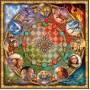 Art Puzzle 1000 Parça Kare Burçlar Puzzle 4394