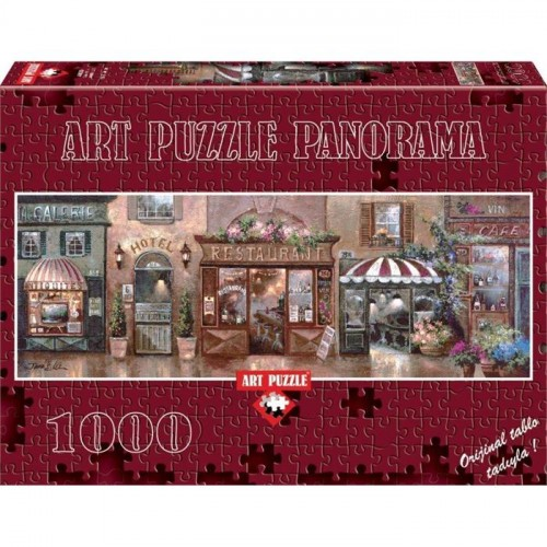 Art Puzzle 1000 Parça Panorama Cafe Walk I Puzzle 4420