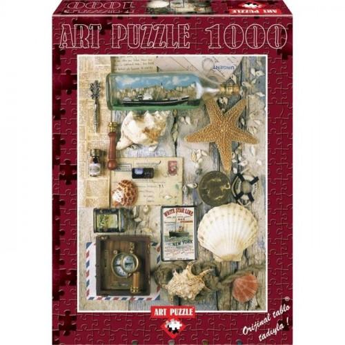 Art Puzzle 1000 Parça Hatıralar Puzzle 4425