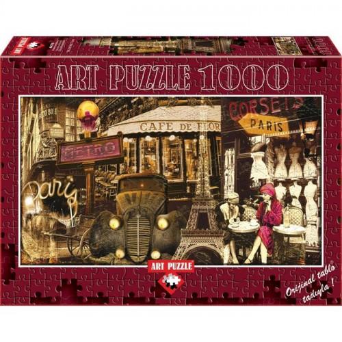 Art 1000 Parça Puzzle Paris Esintileri 4470