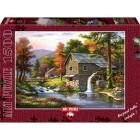 Art Puzzle 1500 Parça Taş Değirmen 4641