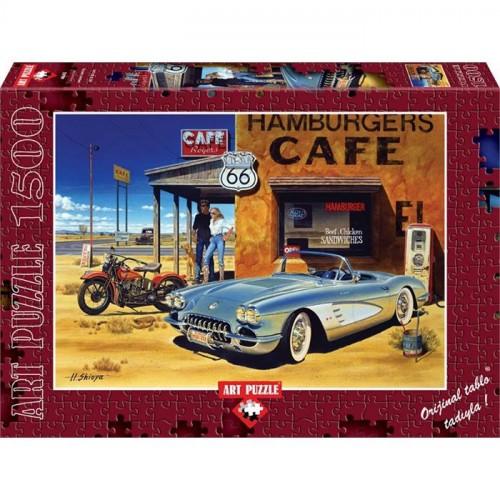 Art Puzzle 1500 Parça Arizona Cafe 4642