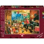 Art Puzzle 1500 Parça Cross Roads Music Shop 4643