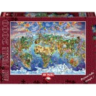 Art Puzzle Büyüleyici Dünya 2000 Parça Puzzle 4717