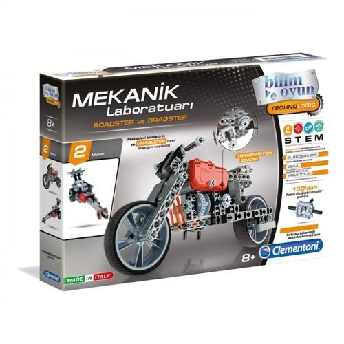 Clementoni Mekanik Laboratuvarı Roadster ve Dragster 64298