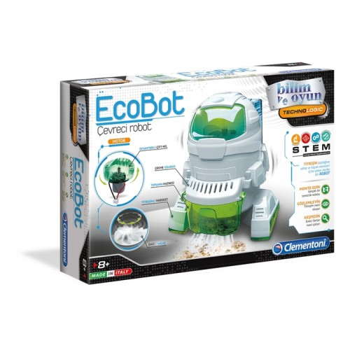 Clementoni Robotik Laboratuvarı Ecobot 64435
