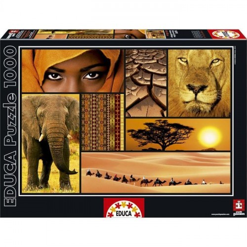 Educa 1000 Puzz Colours Of Africa 16293
