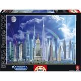 Educa Tall Buildings 1000 Parça Puzzle 16287
