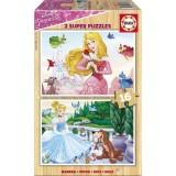 Educa Çocuk Ahşap Disney Prensesler 2x16 17163