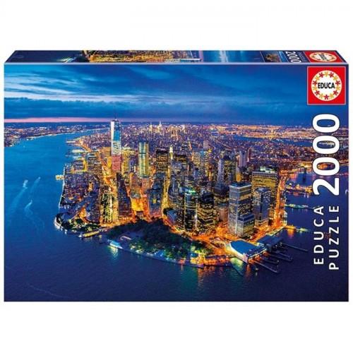 Educa 2000 Parça Puzzle New York Aerial View 16773