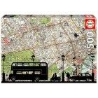 Educa 500 Puzzle Rush Hour 16731