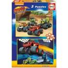 Educa Puzzle Blaze 2x100 Parça Karton Puzzle 16822