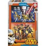 Educa Rebels Star Wars Çocuk Puzzle 2x100 16169