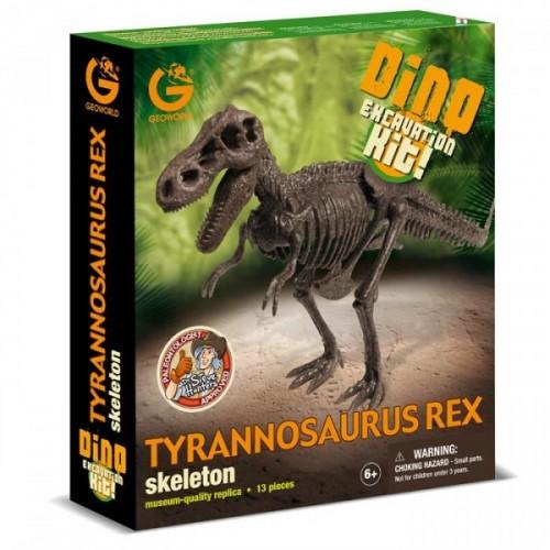 Geoworld Dino Kazı Seti  T-Rex Cl735K