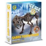 Geoworld Dino Kazı Seti Sabre T. Tiger Cl749K