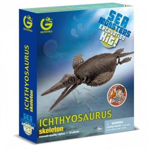Geoworld Dino Kazı Seti Ichthyosaurus Cl758K