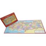 Türkiye Haritası 81 İl (Her İl Ayrı Parça) Kutulu 123 Parça Puzzle
