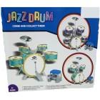 Jazz Drum Büyük Boy Bateri Set 8216