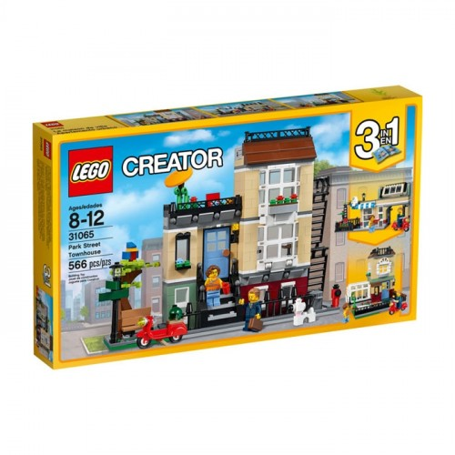 Lego Creator Park Sokağı Evi 31065