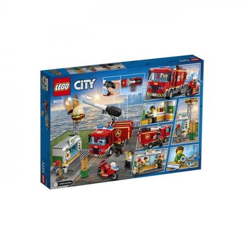 Lego City Burger Bar F Rescue 60214