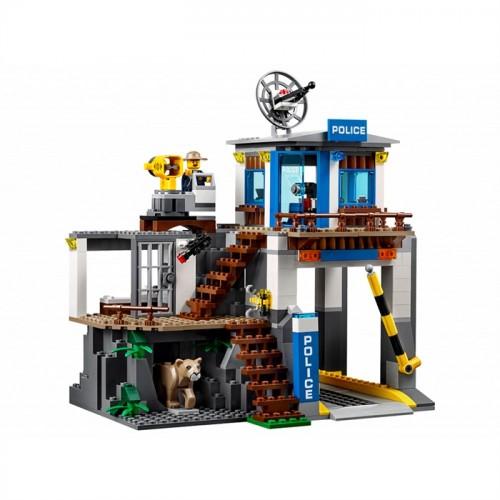 Lego City Polis Mountain Police Hq 60174