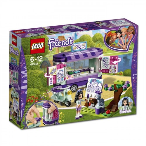 Lego Friends Emmas Art Stand 41332