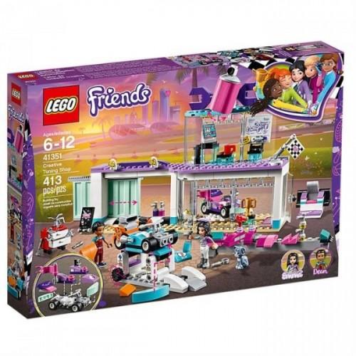 Lego Friends Tuning Shop 41351