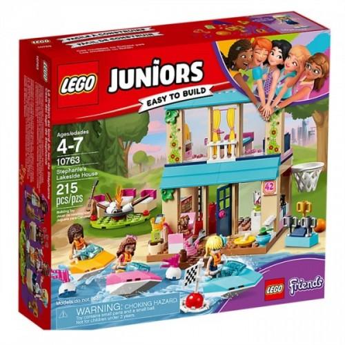 Lego Juniors Stephanie'nin Göl Evi 10763