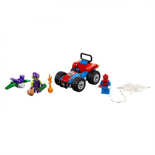 Lego Super Heroes Spiderman Car Chase 76133