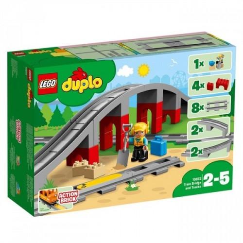 Lego Duplo Tren Köprüsü Ve Rayları 10872