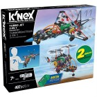 K'Nex Turbo Jet 2 Model (Motorlu) Building Set 16004