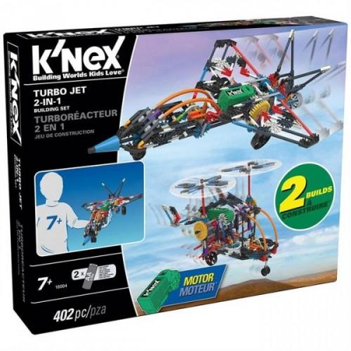 K'Nex Turbo Jet 2 Model (Motorlu) Building Set 16004