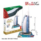 Cubic Fun Puzzle 3D Burj Al Arab Mc101H