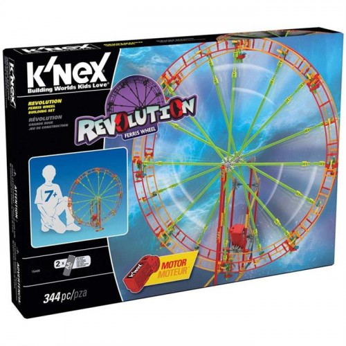 K'Nex Revolution Ferris Wheel Dönme Dolap (Motorlu) Thrill Rides 15408
