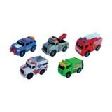 Road Rippers Mini Şehir Araçları 5'li Set 41400