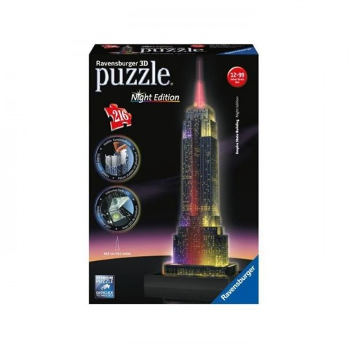 Ravensburger Empire State-Night 3D Puzzle 125661