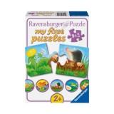 Ravensburger Bahçe Hayvanları Ahsap 9x2 Puzzle 073139