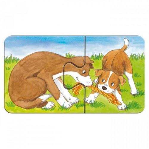 Ravensburger İlk Puzzle Ahşap Çiftlik 2x9 Puzzle 073337