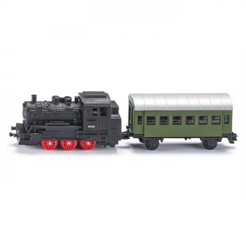 Siku Steam Engine With Passenger Carriage 1657