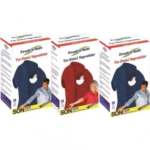 Freshn Soft Ter Emici Yapraklar 14lü x 3 Paket