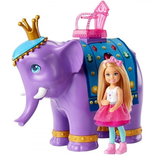 Barbie Dreamtopia Chelsea ve Fil Kral FPL83