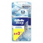 Gillette Blue3 Cool Kullan At Tıraş Bıçağı 8 li