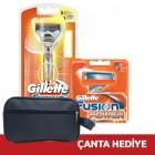 Gillette Fusion Power Makine + 5 Yedek (Çanta Hediye)
