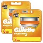 Gillette Fusion Yedek Başlık 8 li x 2 Adet