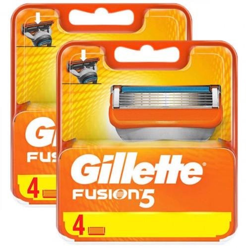 Gillette Fusion Yedek Tıraş Bıçağı 4 lü x 2 Adet