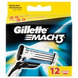 Gillette Mach3 Yedek Tıraş Bıçağı 12 li