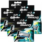 Gillette Mach3 Yedek Tıraş Bıçağı 2 li x 6 Adet