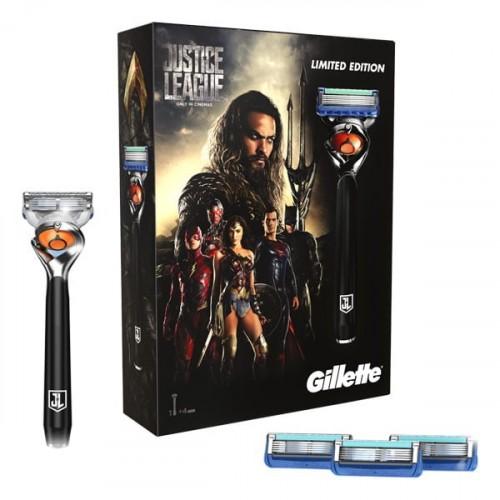 Gillette ProGlide Flexball Justice League Tıraş Makinesi + 4 Yedek